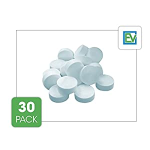 Espresso Machine Cleaning Tablets (30 Count) For Jura, Breville, Miele and others by Essential Values, Made in USA from Essential Values