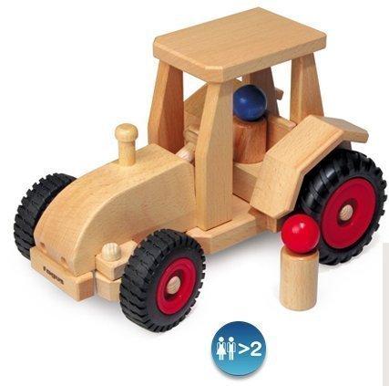 Fagus Wooden Modern Tractor (10.2 Inch)