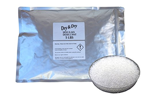 DRY White Silica Desiccant Beads product image