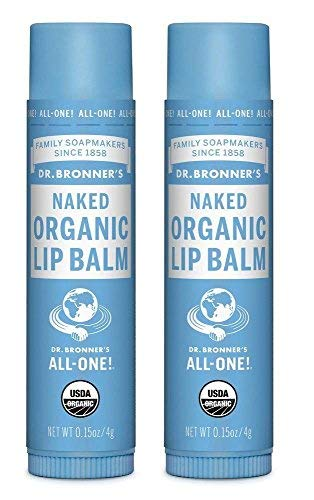 Dr. Bronner's Organic Lip Balm - Naked - 0.15 oz - 2 - Bronners Balm Organic Magic