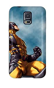 Juliam Beisel's Shop Flexible Tpu Back Case Cover For Galaxy S5 - Wolverine