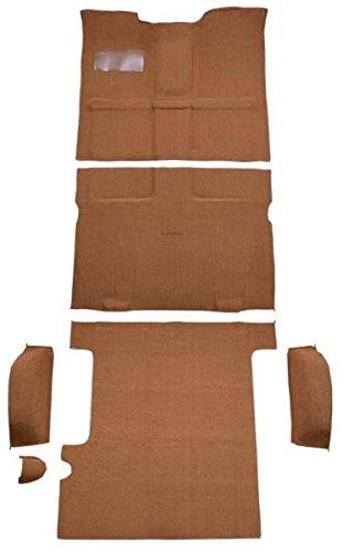 1967 to 1972 GMC Yukon XL Suburban Carpet Custom Molded Replacement Kit, Complete Kit, 4WD (501-Black 80/20 Loop)