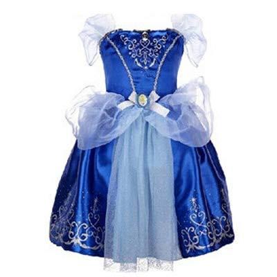 SeedWorld Dresses - 2018Girls Summer Dress Kids Fairy Tale Characters Christmas Cosplay Costume Baby Girl Princess Rapunzel Belle Dress 1 -