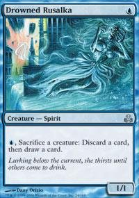 Magic: the Gathering - Drowned Rusalka - Guildpact
