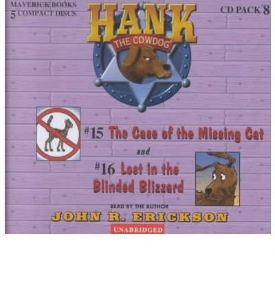 Download Hank the Cowdog CD Pack #8: The Case of the Missing Cat/Lost in the Blinded Blizzard (Hank the Cowdog Audio Packs) (CD-Audio) - Common ebook