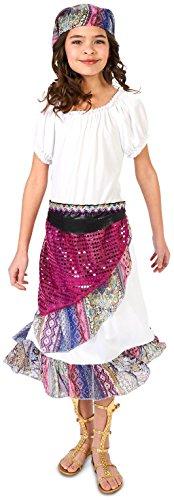 Boho Gypsy Child Costume -