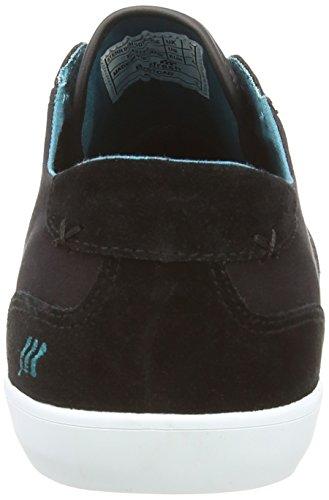 Boxfresh Stern - zapatillas de lona hombre negro - Black (Black/Deep Lake)