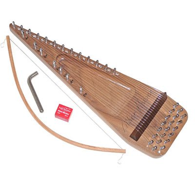 Zither-Heaven-20-String-Black-Walnut-Bowed-Psaltery