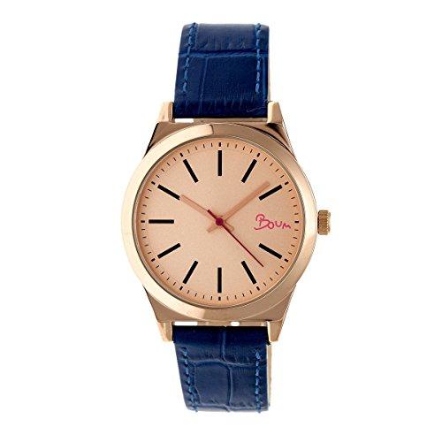 Boum Energie Analog Dial Quartz Minimalist Watch