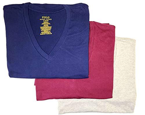 Polo Ralph Lauren Men's Classic Fit w/Wicking 3-Pack V-Necks