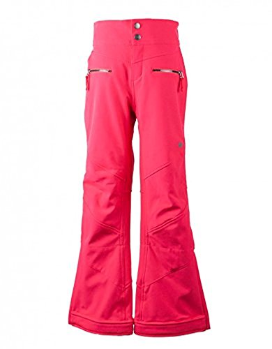 Obermeyer Teen Girls Jolie Softshell Pant Popstar Pink M & E-tip Glove Bundle by Obermeyer