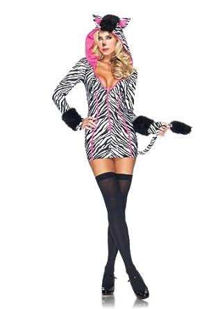Leg Avenue Womenu0027s Savanna Zebra Costume Black/White Small  sc 1 st  Amazon.com & Amazon.com: Leg Avenue Womenu0027s Savanna Zebra Costume Black/White ...