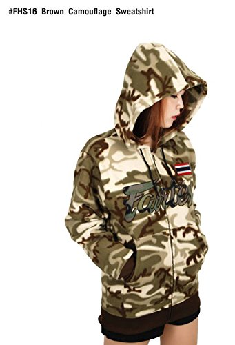 FAIRTEX-HOODED-SWEATSHIRT-BROWN-FHS16