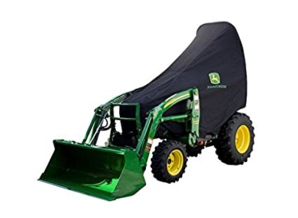 Top Amazon.com: John Deere Cover for Compact Utility Tractors (Large &VR_76