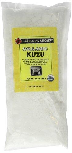 Emperor's Kitchen Organic Kuzu (Japanese Arrowroot), 17.6-Ounce Bag