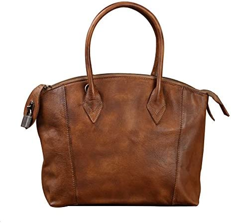 Genda 2Archer Mens Italy Imported Leather Satchel Briefcase Laptop Tote Bag