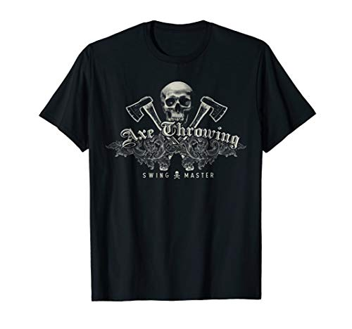 Competition tee for Axe Throwing Event- swing master