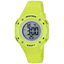 Armitron Sport Women's Quartz Resin Fitness Watch, Color:Green (Model: 45/7081LGN)
