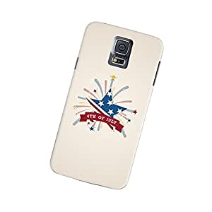 Samsung Galaxy S5 American Flag Starburst Slim Case