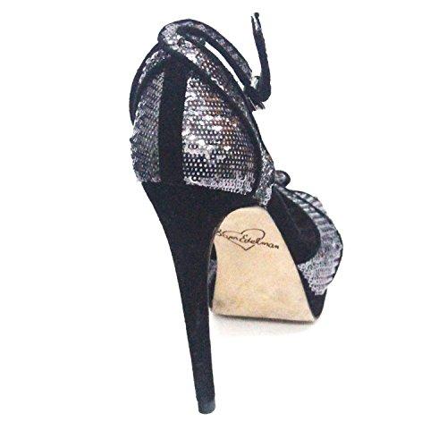 Sam Edelman Zapatos de Vestir Para Mujer Multicolor Negro/Plata