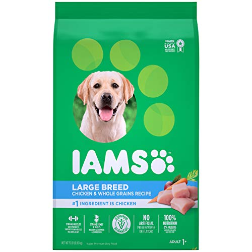 Iams Large Breed Adult Dry Dog Food, Chicken & Lamb