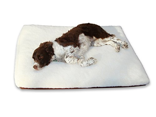 Dog Bed King Economy Crate Pad Cushion or Pet Bed, Large