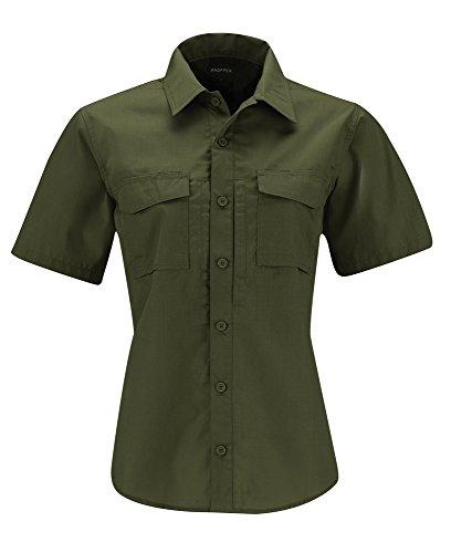 Propper Women's REVTAC Short Sleeve Shirt, Olive, Medium