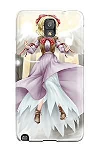 High Impact Dirt/shock Proof Case Cover For Galaxy Note 3 (blondes Video Games Touhou Dress Flying Ribbons Shoes Shortsmiling Bowsbow Gengetsu)