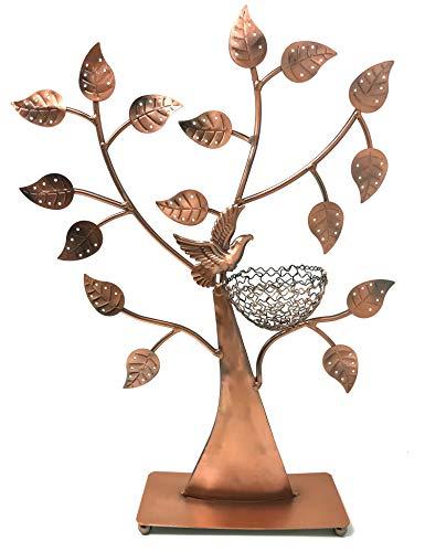 Little Earrings Bird (Bird Nest Jewelry Tree Earring Holder~Bracelet Stand~Necklace Organizer Jewelry Display (Bronze) by BJ Display)