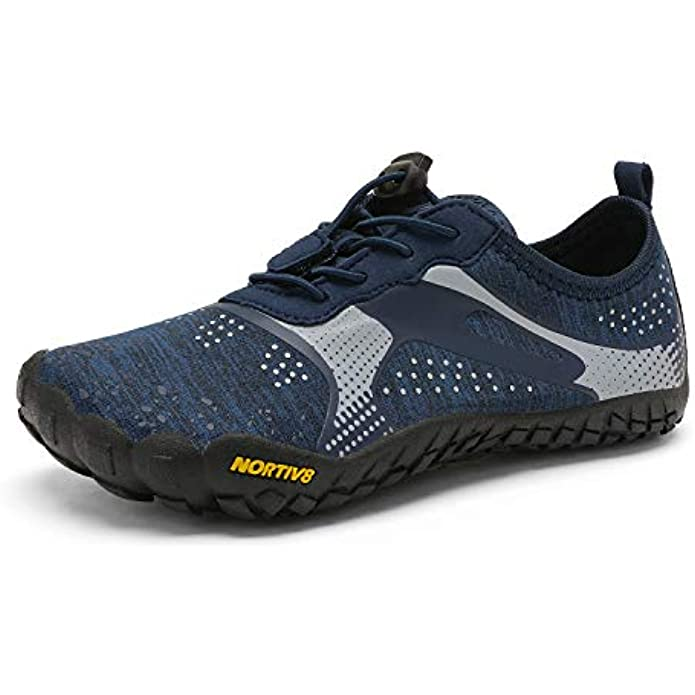 NORTIV 8 Kids Water Shoes Boys Girls Lightweight Athletic Outdoor Quick Dry Barefoot Sports Shoes(Toddler/Little Kid/Big Kid)