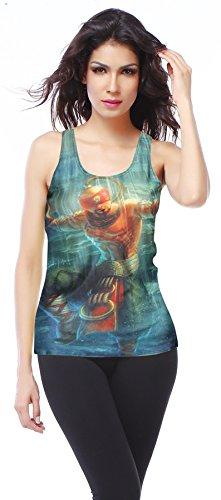 Belsen - Camiseta sin mangas - para mujer Monk