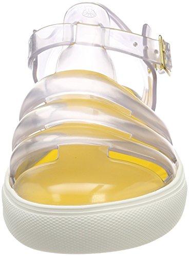 Femme Lemon Crystal Transparent Jelly Bride Cheville 06 Transparent Sandales qAqPXvxg