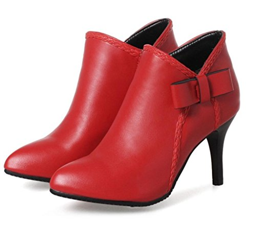 Pointed Elegant Temperament High HETAO of Shoes Red Court shoes Heels Heels Personality Women's Elegant Shoes Lady's Beautiful 77IXpg