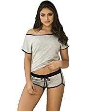 short Pajama for women - Gray color