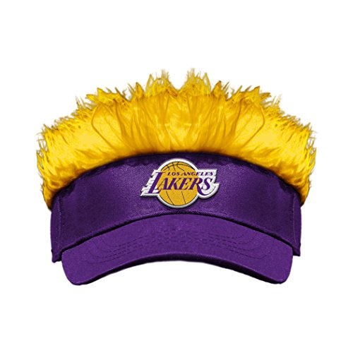 The Northwest Company Officially Licensed NBA Los Angeles Lakers Flair Hair Visor