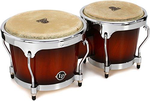 Latin Percussion LPA601-SBC Aspire Sunburst Wood Bongos by Latin Percussion