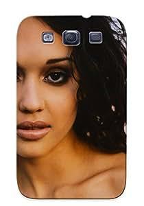 Pretty RZTvcvj531bWvoG Galaxy S3 Case Cover/ Jessica Alba Series High Quality Case