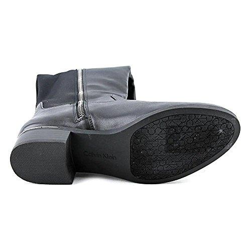 Boot Calvin Il Klein Cylan Di Nero Camoscio In Sopra Ginocchio tr4rYwqB