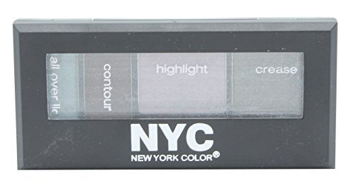 N.Y.C. New York Color Metro Quartet Eyeshadow, Chelsea Chic, 0.12 -