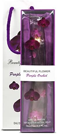BEAUITYFUL FLOWER Women's Parfum, Purple Orchid, 3.4 Ounce