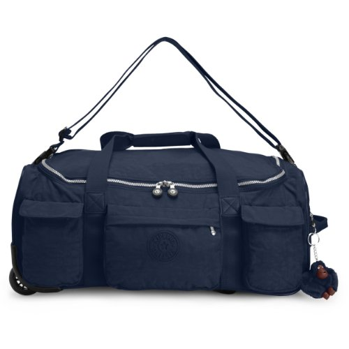 Kipling Discover Small, True Blue, One Size by Kipling