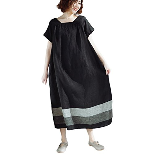 LISTHA Vintage Maxi Dresses for Women Short Sleeve for sale  Delivered anywhere in USA