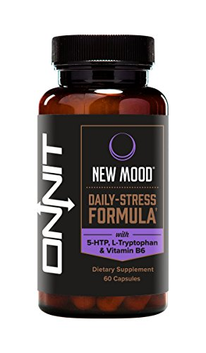 Onnit New Mood | Daily Stress and Mood Support Supplement | 60 Count