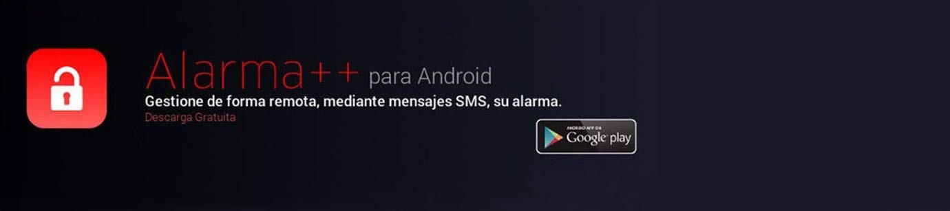 Alarma Hogar con voces en Español Castellano GSM y Teclado alarmaszoom az017. Incluye sensor con cable anti inhibidores