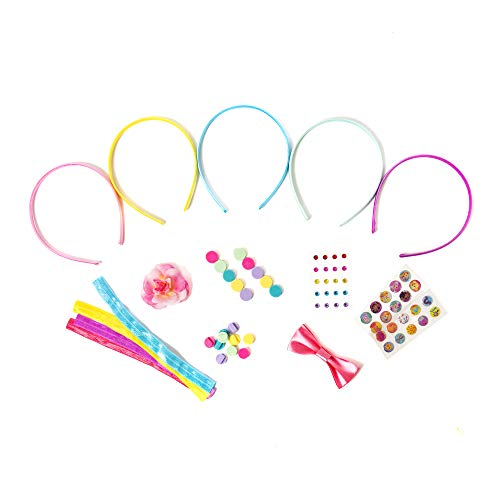 Sunny Day Create Your Own Headbands & Hair Jewelry by Horizon Group USA, Multicolored
