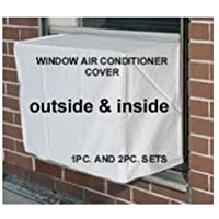 Window Air Conditioner Cover - Window/thru Wall - 24W, 21H, 21D AND 24W, 21H, 4D - White