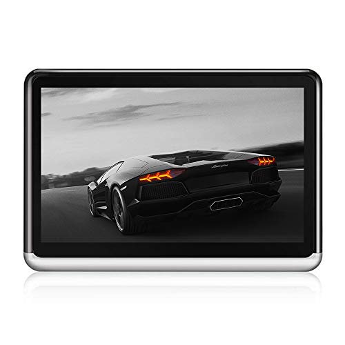 DDAUTO Android Headrest DVD Player for Car 1080P, 4500mAh Battery, IPS Touch Screen, Supports WiFi, Bluetooth, HDMI Output, FM, Cell Mirror, Netflix