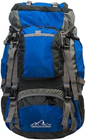 American Outback Zion Internal Frame Hiking Backpack