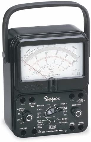 Confused About Best Analog Multimeter? Here is Top 10 list with Reviews