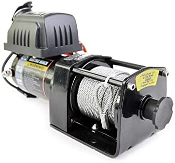 Warrior WW20SPS24 ATV//UTV Quad Elektrische Seilwinde Ninja 2000LB A 909 kg 24 V